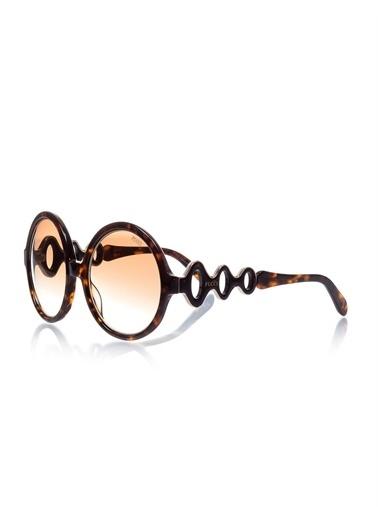Emilio Pucci  Ep 0039 52F Kadın Güneş Gözlüğü Kahve